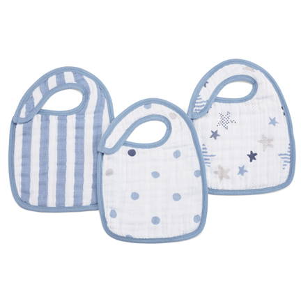 Aden + Anais Snap Bibs - Rock Star (3 pack) image
