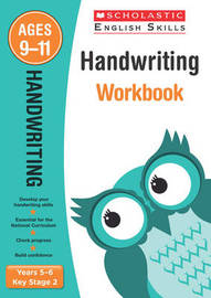 Handwriting Years 5-6 Workbook by Christine Moorcroft image