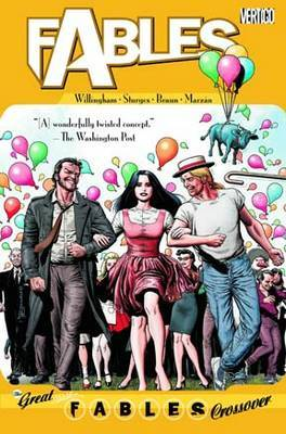 Fables TP Vol 13 The Great Fables Crossover by Bill Willingham image