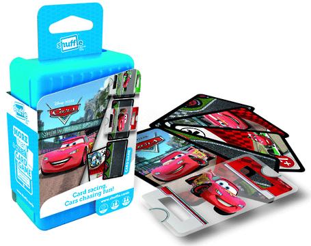 Shuffle Card Games - Disney Cars