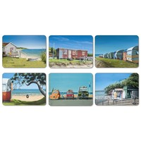 Kiwiana Coastal Coasters (Set of 6)
