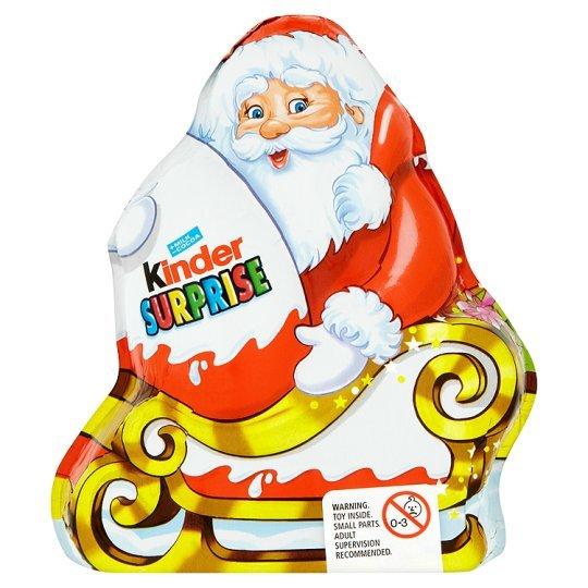 Kinder Santa with Kinder Surprise 75g