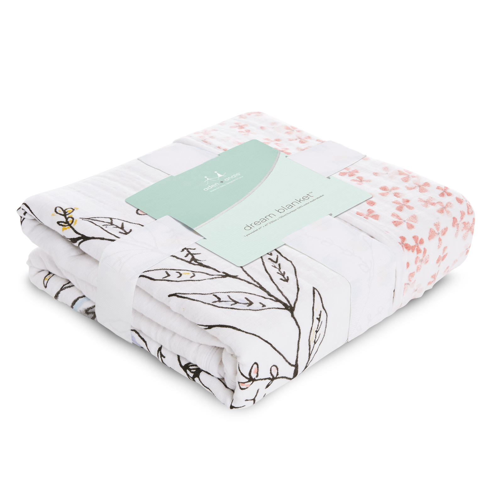 Aden + Anais: Classic Dream Blanket - Birdsong image