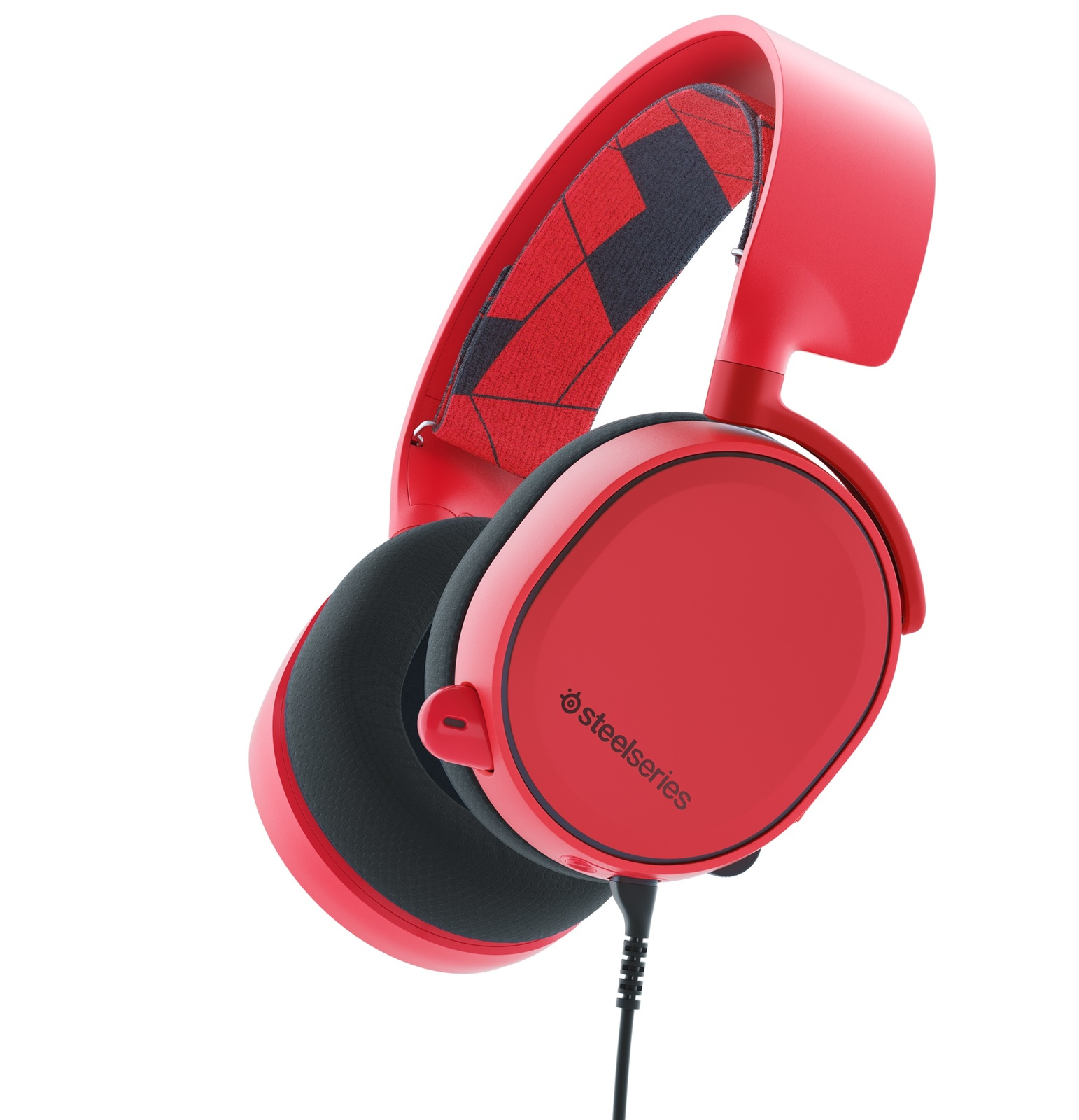 SteelSeries Arctis 3 Wired Gaming Headset (Solar Red) for PC Games image