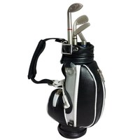 Executive Desktop Gadget Golf Bag Pen Holder