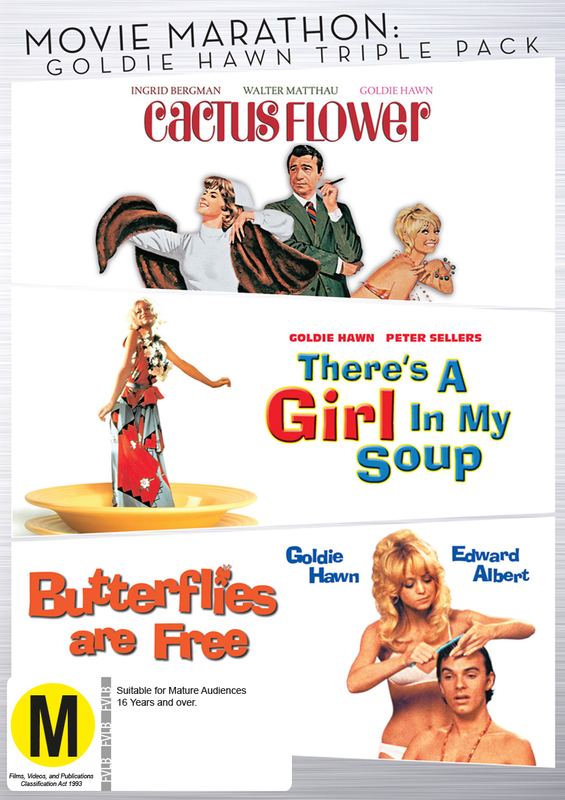 Movie Marathon: Goldie Hawn Triple Pack on