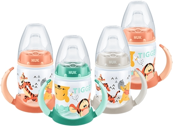 NUK First Choice Learner Bottle 150ml - Winnie the Pooh (Assorted) image