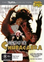 Legend Of The Chupacabra on DVD
