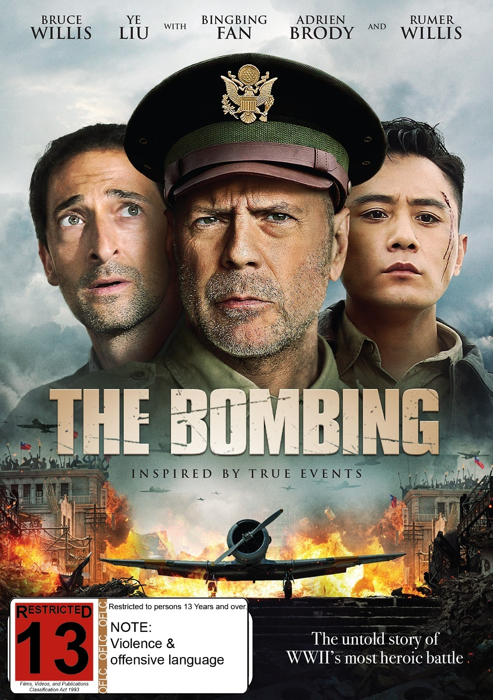 The Bombing on DVD image