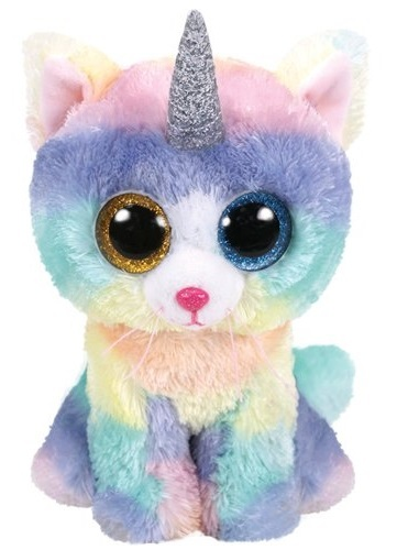 Ty Beanie Boo: Heather Cat - Small Plush