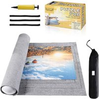 Puzzle Mat Roll for 1000-1500 Pieces - Grey