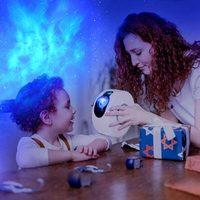 Star Night Light Galaxy Projection - White