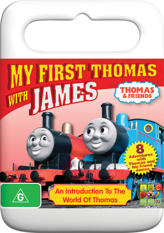 Thomas And Friends - My First Thomas with James on DVD