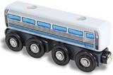 Melissa & Doug: Wooden Magnet Diesel Passenger Car - 6 Pack