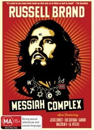 Russell Brand: Messiah Complex on DVD