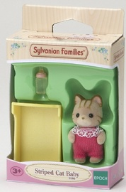 Sylvanian Families: Striped Cat Baby