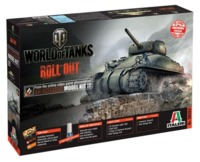 Italeri: 1/35 World Of Tanks - M4 Sherman