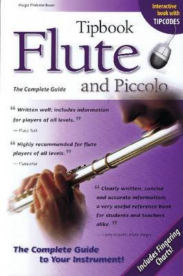 Tipbook Flute and Piccolo by Hugo Pinksterboer