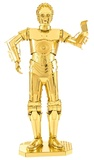 Metal Earth: Star Wars C-3PO (Gold) - Model Kit