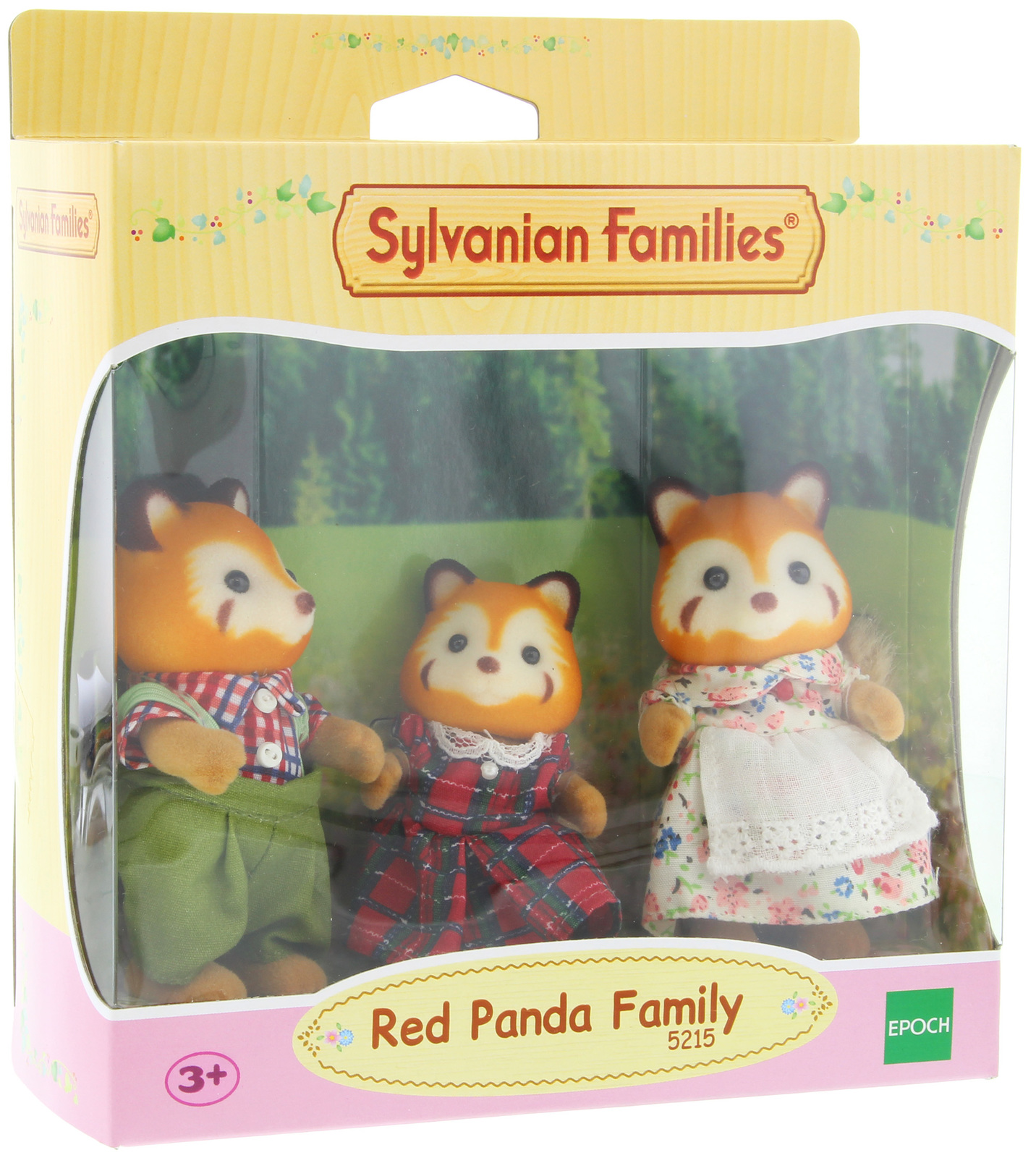 Sylvanian Families: Red Panda Family image