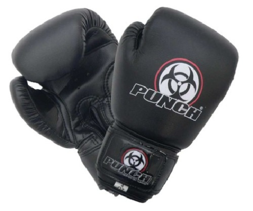 Punch: Urban Junior Boxing Glove - 6.oz (Black)