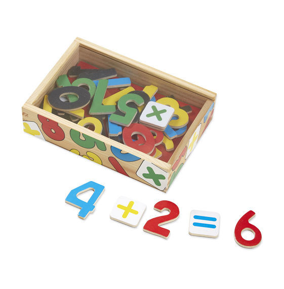 Melissa & Doug: Magnetic Wooden Number Set