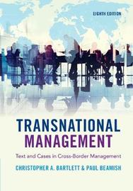 Transnational Management by Christopher A Bartlett