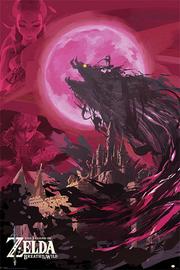 The Legend Of Zelda: Breath Of The Wild Maxi Poster - Ganon Blood Moon (989)