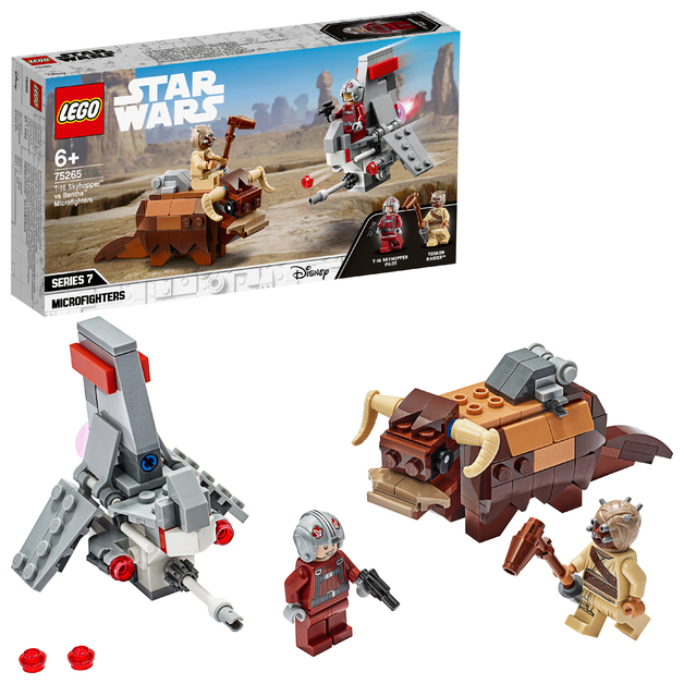 LEGO Star Wars: T-16 Skyhopper vs Bantha - Microfighters (75228)