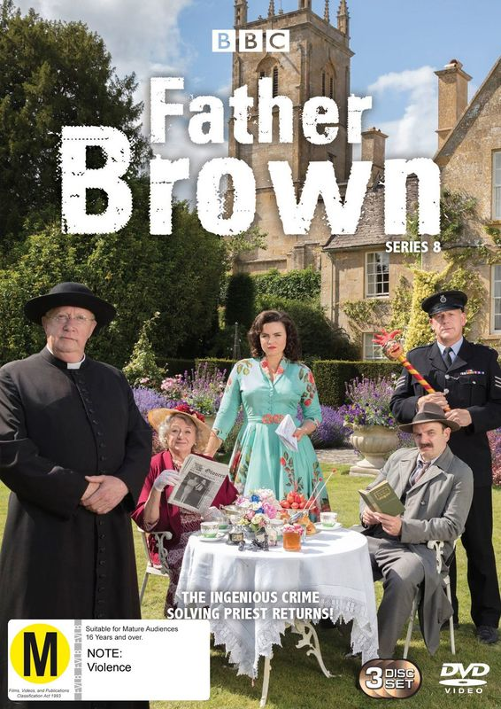 Father Brown - Series 8 on DVD