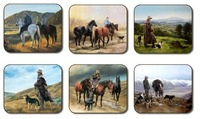 Stockman Coasters (Set 6)