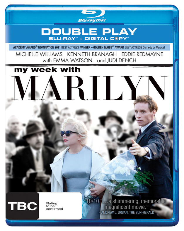 My Week With Marilyn - Double Play on Blu-ray