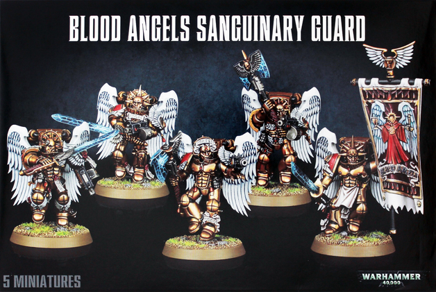 Warhammer 40,000 Blood Angels Sanguinary Guard