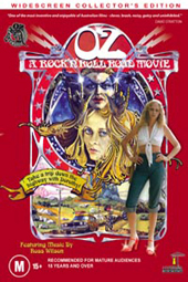 Oz - A Rock 'n' Roll Road Movie on DVD