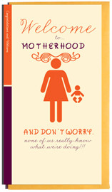 OplusD - Welcome To Motherhood Card