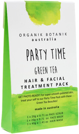Organik Botanik Splotch - Party Time Hair & Facial Pack (Green Tea)