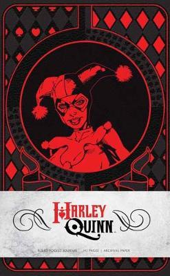 Harley Quinn Ruled Pocket Journal by Matthew K Manning