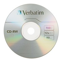Verbatim CD-RW 700MB Spindle 12x (25 Pack) image