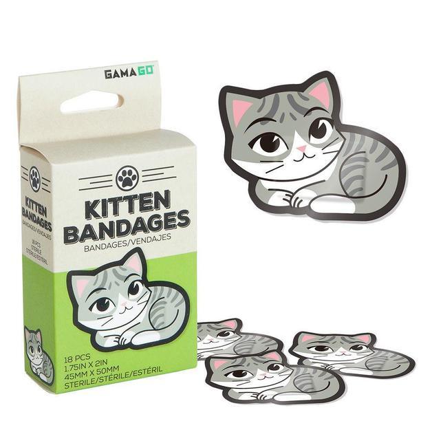 Gama Go: Kitten Bandages (18pc)