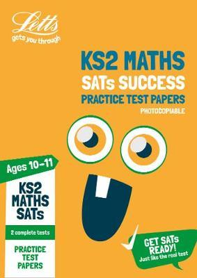 KS2 Maths SATs Practice Test Papers (Photocopiable edition) by Letts KS2 image