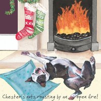 Little Dog That Laughed: Chesters Nuts Roasting