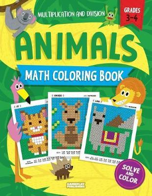 Animals Math Coloring Book by Gameplay Publishing image