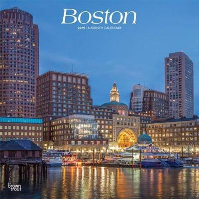 Boston 2019 Square by Inc Browntrout Publishers