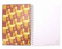 Harry Potter: A4 Spiral Notebook - G for Gryffindor image