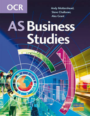 OCR AS Business Studies: Teacher Answer Guide by Alex Grant image