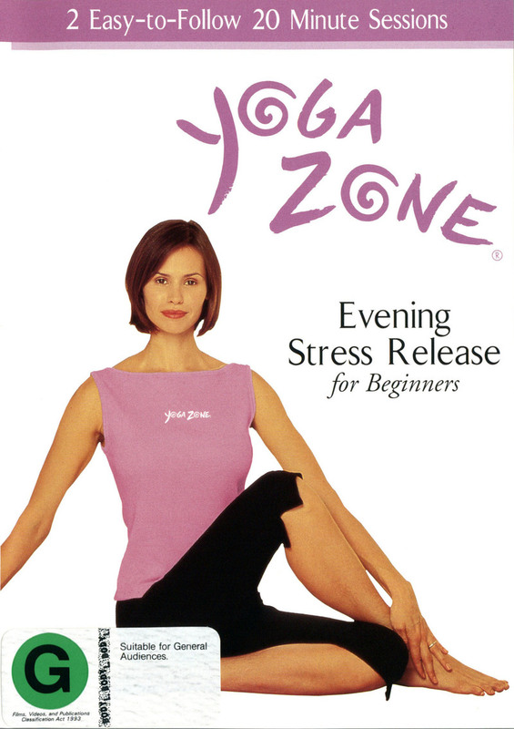 Yoga Zone Evening Stress Release on DVD