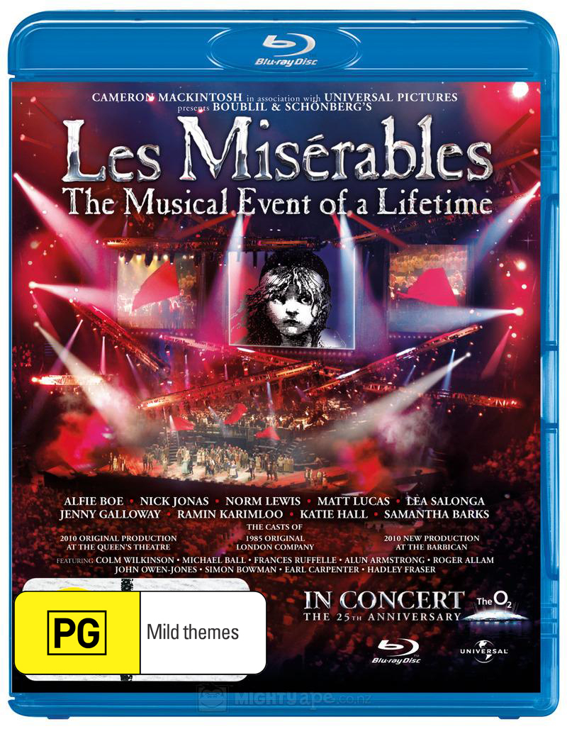 Les Miserables - 25th Anniversary Concert on Blu-ray image