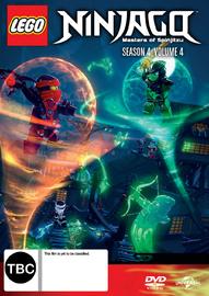 Lego Ninjago - Season 4 Volume 4 DVD