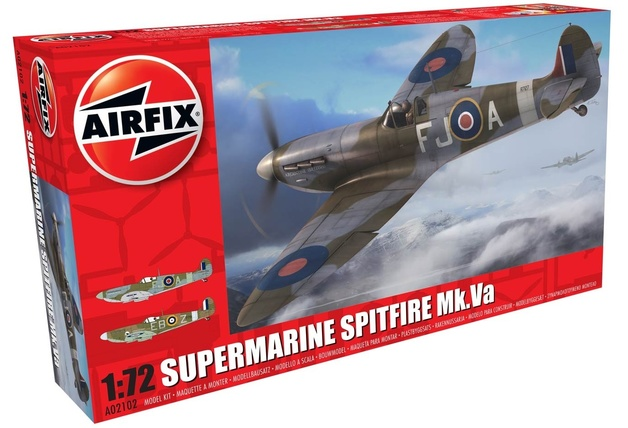 Airfix 1:72 Supermarine Spitfire Mk.VA - Model Kit