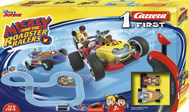 Carrera First: Disney Micky Roadstar Racers - Slot Car Set #2